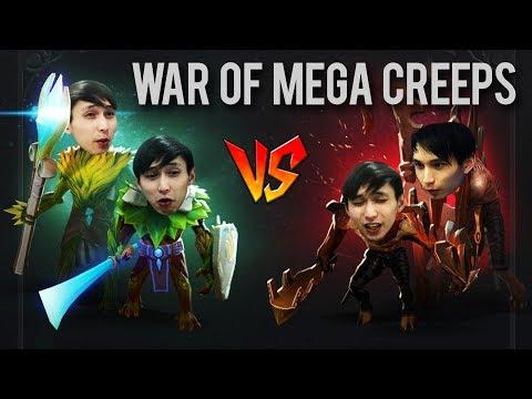 MEGA CREEPS VS MEGA CREEPS 83 MIN INTENSE GAME (SingSing Dota 2 Highlights #1037)