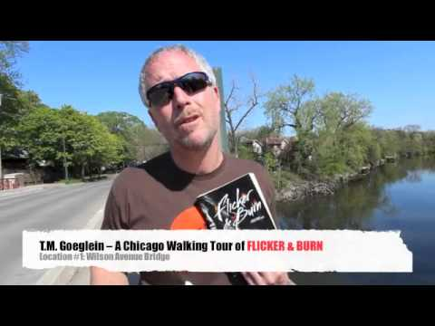 A Chicago Walking Tour of Flicker & Burn: Location #1 Wilson Avenue Bridge