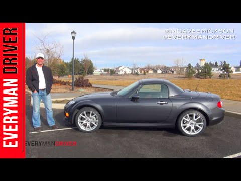 DETAILED Review: 2015 Mazda MX-5 Miata on Everyman Driver. Dave Erickson