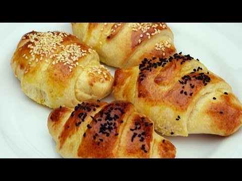 булочка рецепт - Рулетики с маслом - погача рецепт