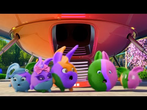 Sunny Bunnies | The Bunnies Change Colors | SUNNY BUNNIES COMPILATION | Cartoons for Children