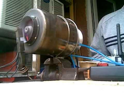 Jet engine test