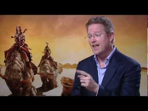 JOHN CARTER Director Andrew Stanton Talks Pixar, Marketing & Critics