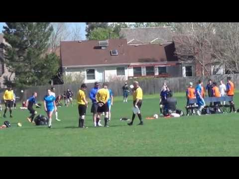 Real Ten - Defense | 2013 Mens U18 Division 2 Highlight Footage Vs Colorado Rush A1