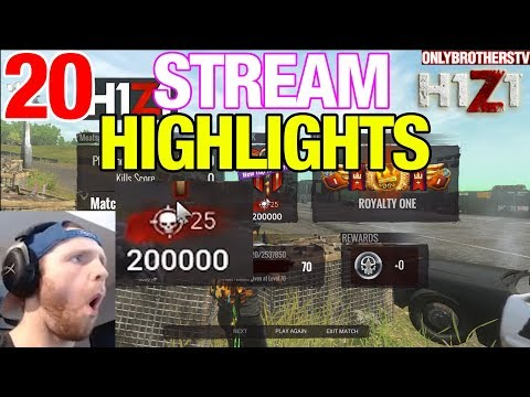H1Z1 STREAM HIGHLIGHTS EP.20 - ‹ OnlyBrothersTV ›