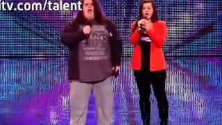 Jonathan & Charlotte Video - Opera duo Charlotte & Jonathan - Britain's Got Talent 2012 audition - UK version  〔日本語字幕付き〕