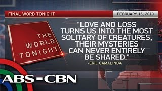 The World Tonight: The Final Word | February 15, 2019