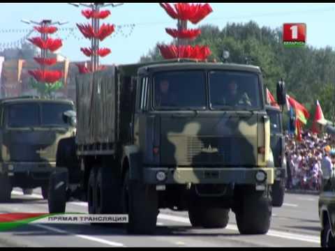 Парад военной техники 2013