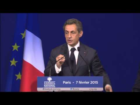 Conseil National du 7 février 2015 - Discours de Nicolas Sarkozy