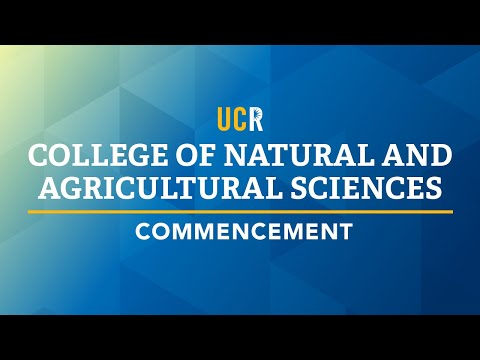 Download Lagu  UCR Commencement - College of Natural and Agricultural Sciences Mp3 Free