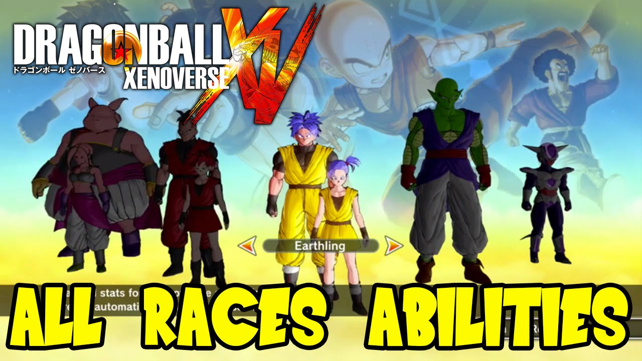 Dragon Ball Xenoverse Frieza Race Dragon Ball Xenoverse All