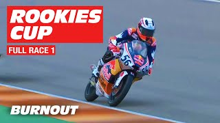 2019 Red Bull Rookies Cup | Sachsenring FULL RACE 1 | BURNOUT