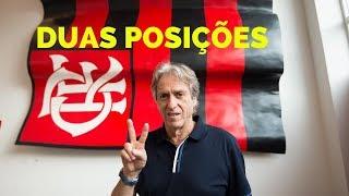 Jesus pediu ao Flamengo contratações para duas posições. Saiba quais!