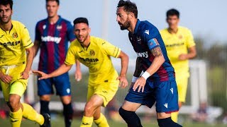 Highlights Levante UD 1-2 Villarreal CF