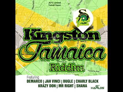 KINGSTON JAMAICA RIDDIM MIX FT. CHARLY BLACK, DEMARCO & MORE {DJ SUPARIFIC}