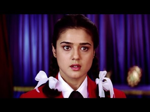 Daring Act - Preity Zinta Slaps The Vice Principal Of Her School - Kya Kehna video