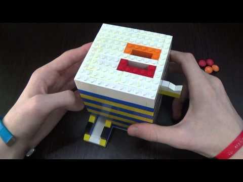 Как сделать конфетный аппарат из лего
