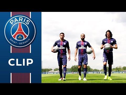PARIS LOVES US : BASKETBALL with Lucas, Edinson Cavani, Thiago Silva