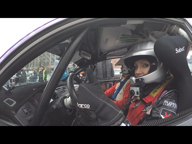 GoPro - Pražský Rally Sprint 2014 - Olga Lounová a David Turek
