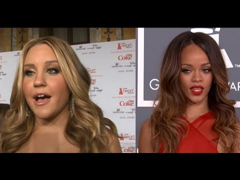 Amanda Bynes Attacks Rihanna, Re-connects With Drake Bell! video