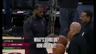 MIC'D UP!!! LeBron James Wired During Cavaliers Win Over Bulls