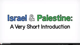 Video: Introduction to Israel Palestine Conflict