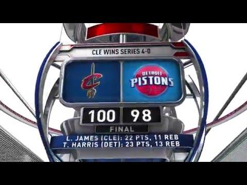 Cleveland Cavaliers vs Detroit Pistons - April 24, 2016