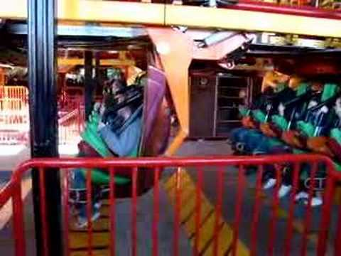 six flags rides videos. Tatsu ride at six flags