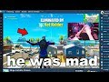 I Stream Sniped Ninja until he BANNED me on Fortnite...