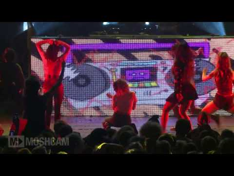 Major Lazer - Bubble Butt | Live In London | Moshcam video