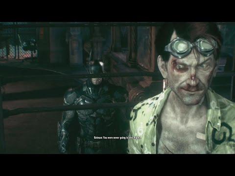 Batman Arkham Knight Post Game Villain Dialogue