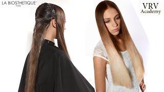 Окраска волос омбре на длинные волосы видео уроки