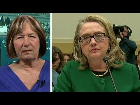 Victim's mom demands to know why Clinton was out of loop on Benghazi
