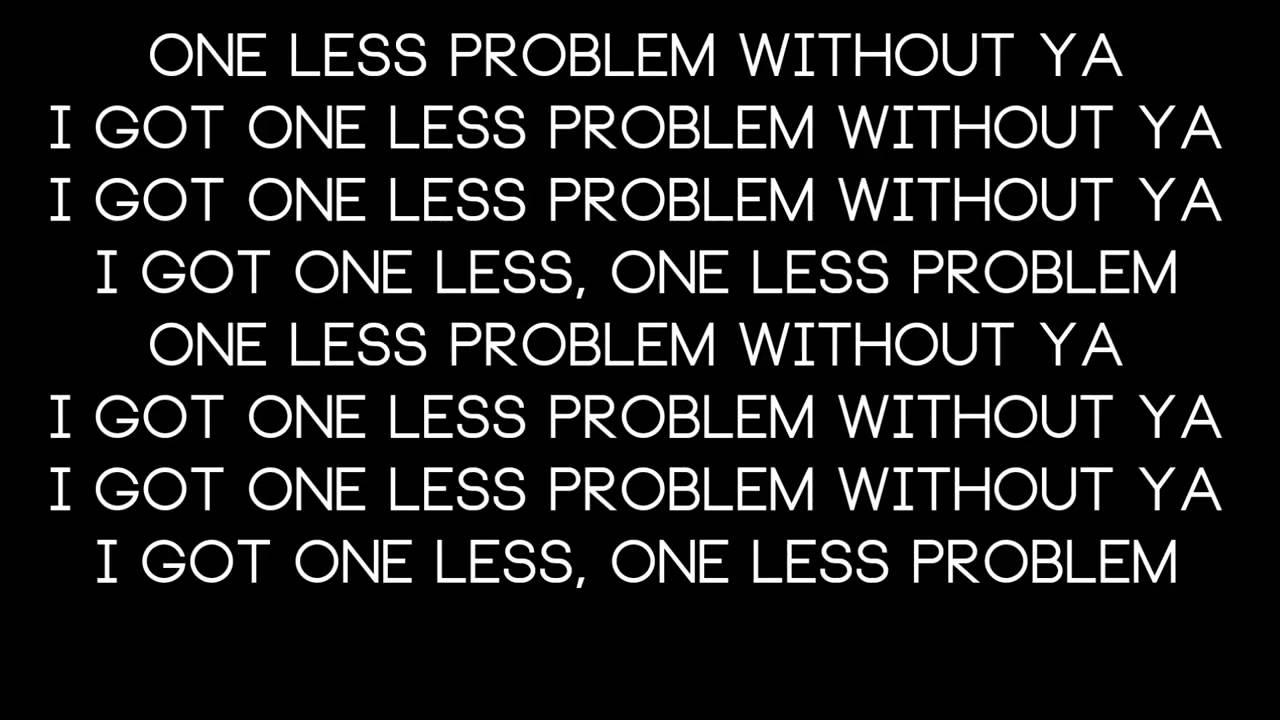 Ariana Grande Ft. Iggy Azalea-One Less Problem Lyrics ...
