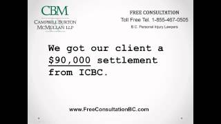 ICBC Personal Injury Lawyers for BC Car Accident Injury Claims