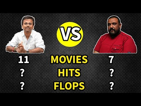 AR Murugadoss vs Siva Who is The Best Director ??? | Sarkar vs Viswasam | Blockbusters/Hits/Flops