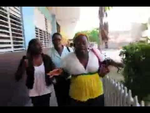 JAMAICAN MOTHER GOES TO HIGH SCHOOL TO CONFRONT TEACHER