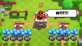 he didn't stand a chance... | Clash Royale