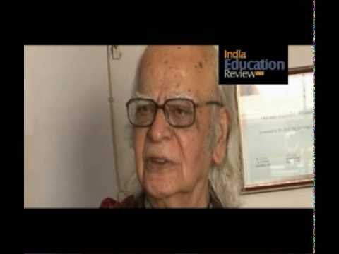 Interview of Professor Yash Pal, Chancellor of Jawaharlal Nehru University - Part II