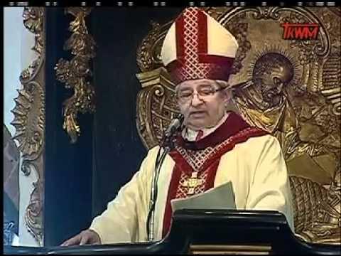 Ingres Arcybiskupa Metropolity Gdańskiego Sławoja Leszka Głódzia Do Katedry Oliwskiej 2008-04-26