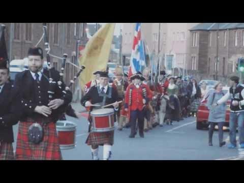 Battle of Prestonpans 2013 re-enactment