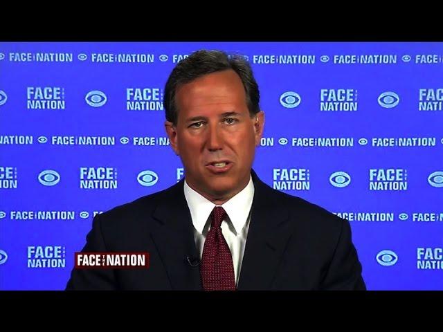 "Santorum: Divorce, adultery ""the bigger problem"" over same-sex marriage"