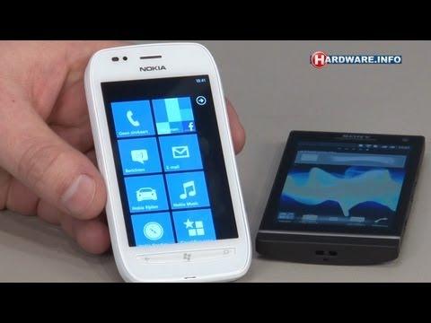 Nokia Lumia 710 en Sony Xperia S review  - Hardware.Info TV (Dutch)