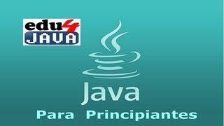 Video Tutoriales programación Java en Español