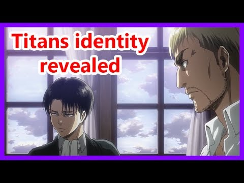 Erwin and Levi find out titans identity - Attack on Titan season 2 episode 12 english sub thumbnail