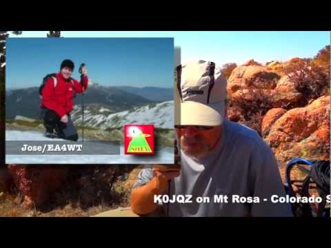 Frank/K0JQZ's First DX SOTA Contact from Mt Rosa - Colorado 11,565'