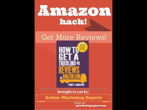 Amazon Hack: A Quick Tip for More Reviews and Networking with Reviewers!