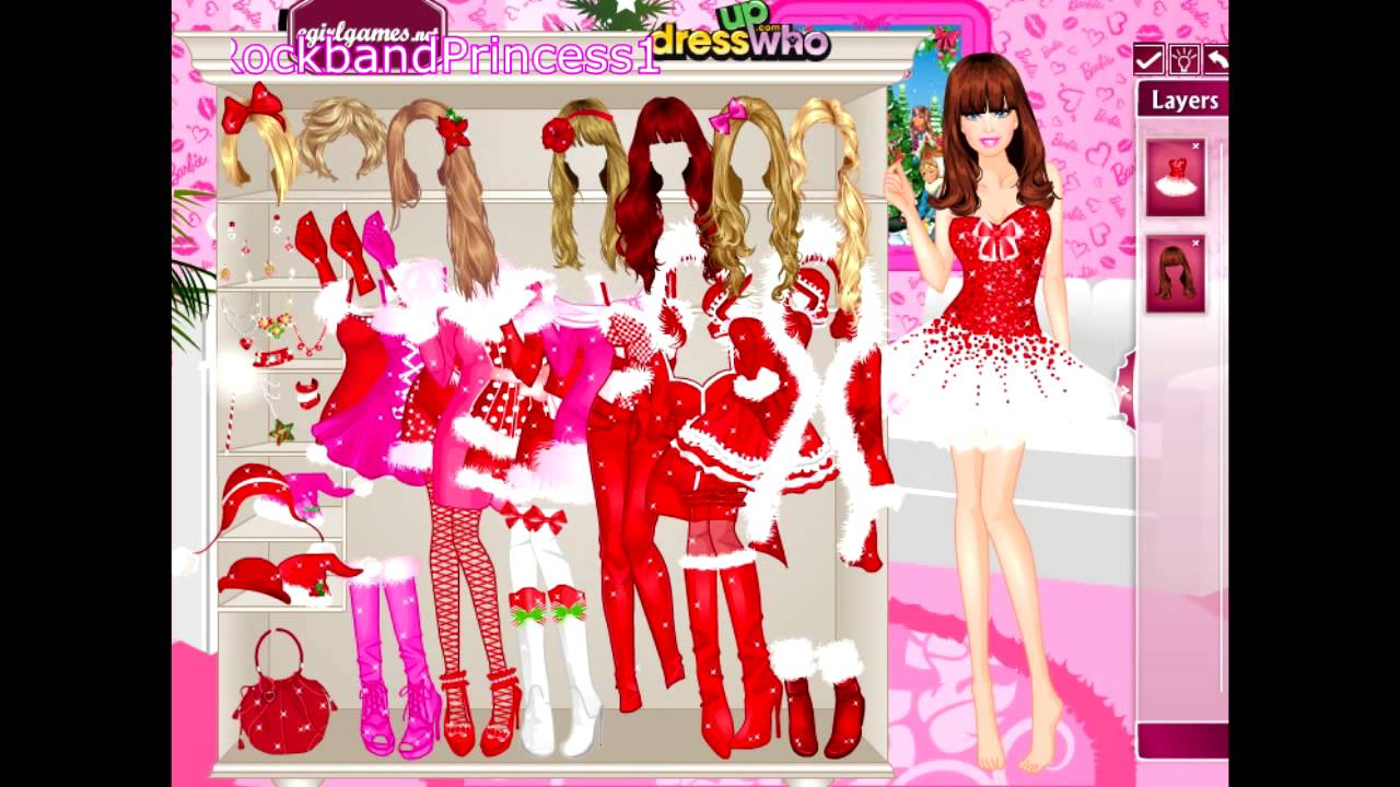 Dress Up Barbie Fashion Show Barbie Dress Up Game