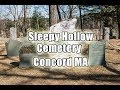 Sleep Hollow Cemetery Concord Massachusetts