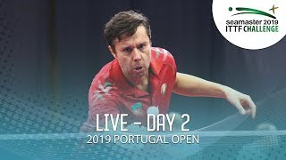 2019 ITTF Challenge Portugal Open | Day 2
